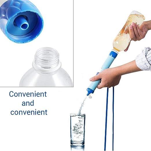 StyleBest - Filtro de Agua portátil para Exteriores, Filtro de Agua Fresca, purificador de Aire para Senderismo, Camping, Pesca (1000 L): Amazon.es: Hogar