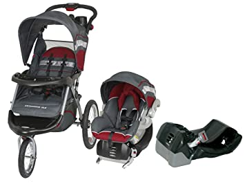 Amazon.com : Baby Trend Expedition ELX Travel System with 2 Car Seat ...
