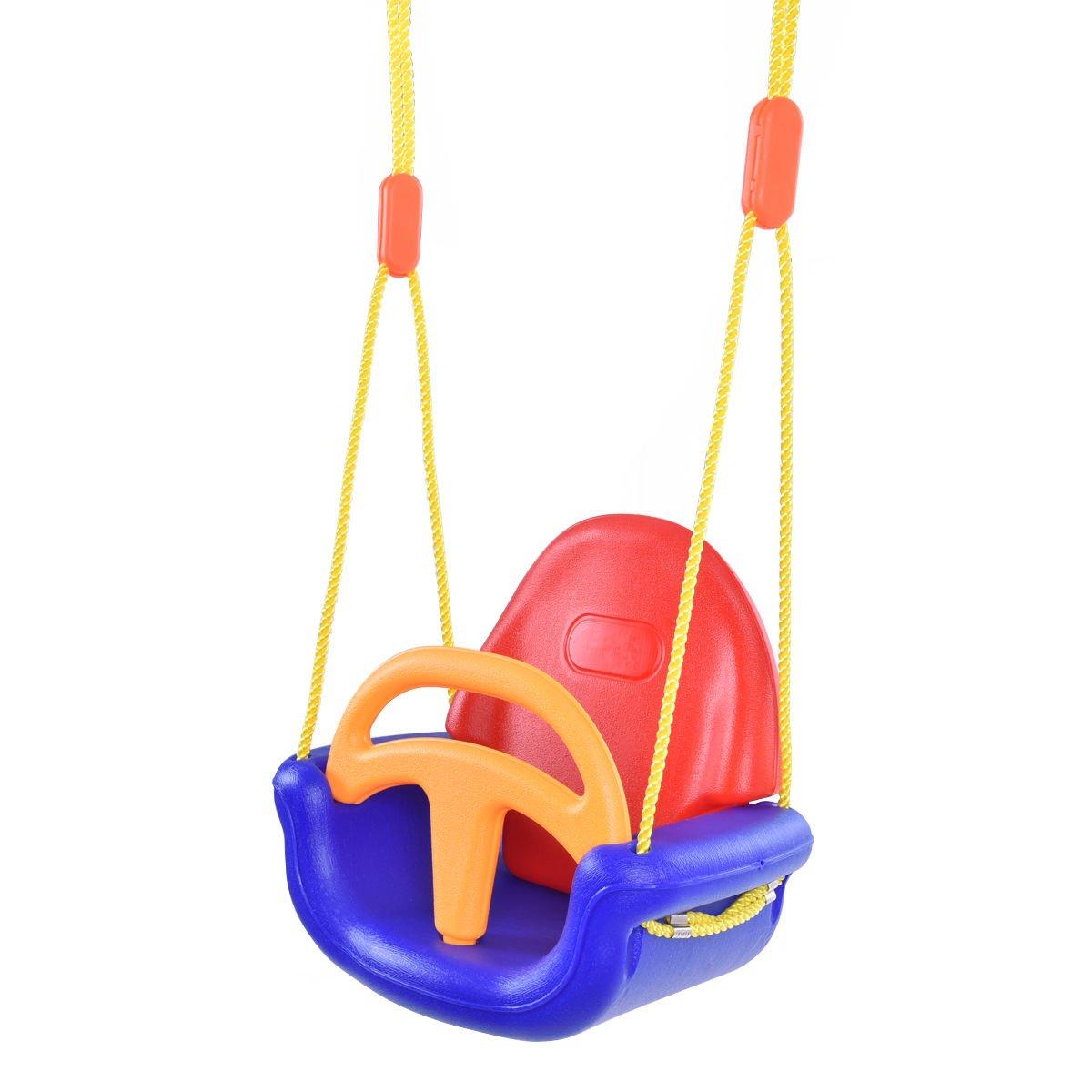 新しい3 - in - 1 Infant to幼児用スイングセット安全取り外し可能アウトドア再生パティオガーデン B073H21NBQ