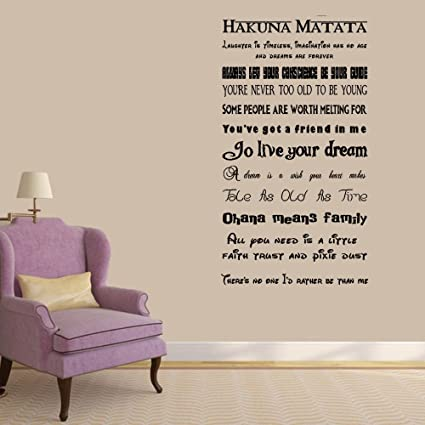 Amazoncom Marydecals Vinyl Saying Lettering Wall Art Inspirational