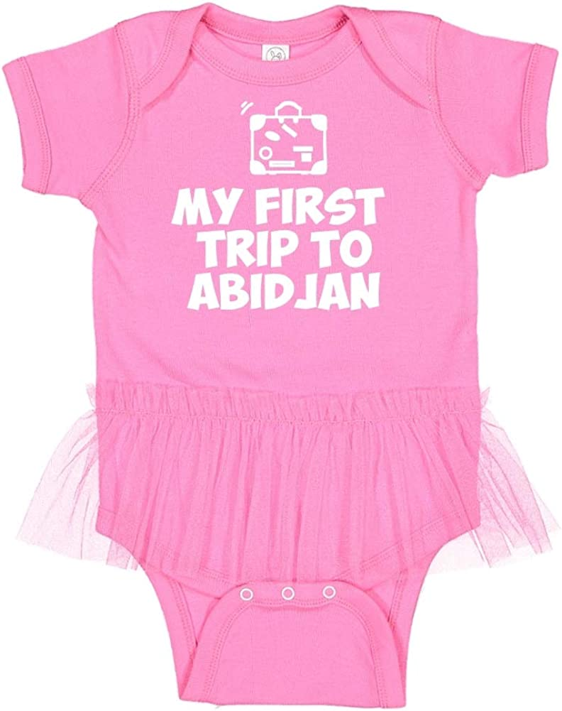 Mashed Clothing My First Trip to Abidjan Baby Romper