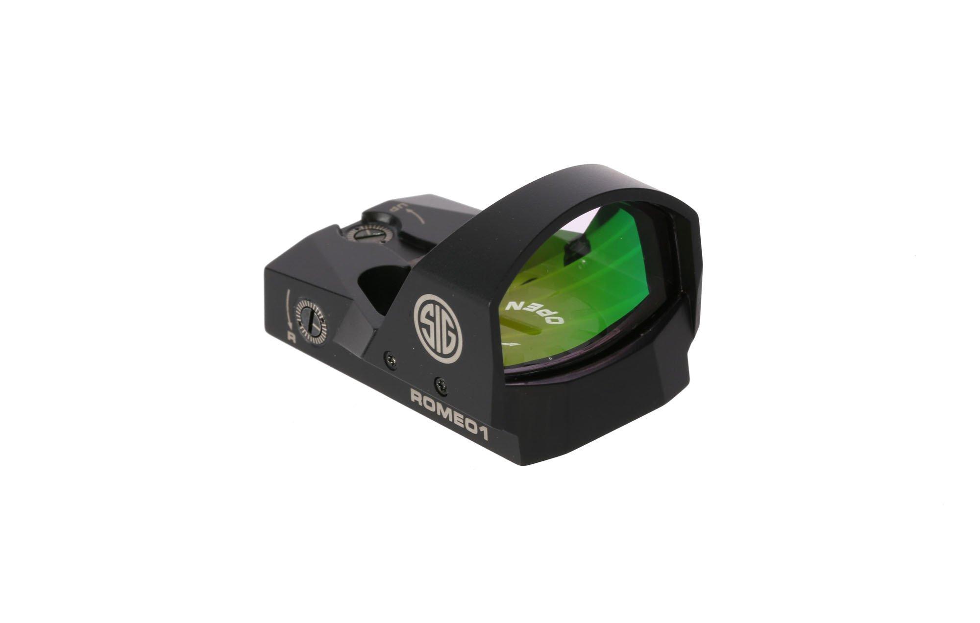 Sig Sauer Romeo1 1x30mm 6 Moa Reflex Red Dot Sight SOR11600