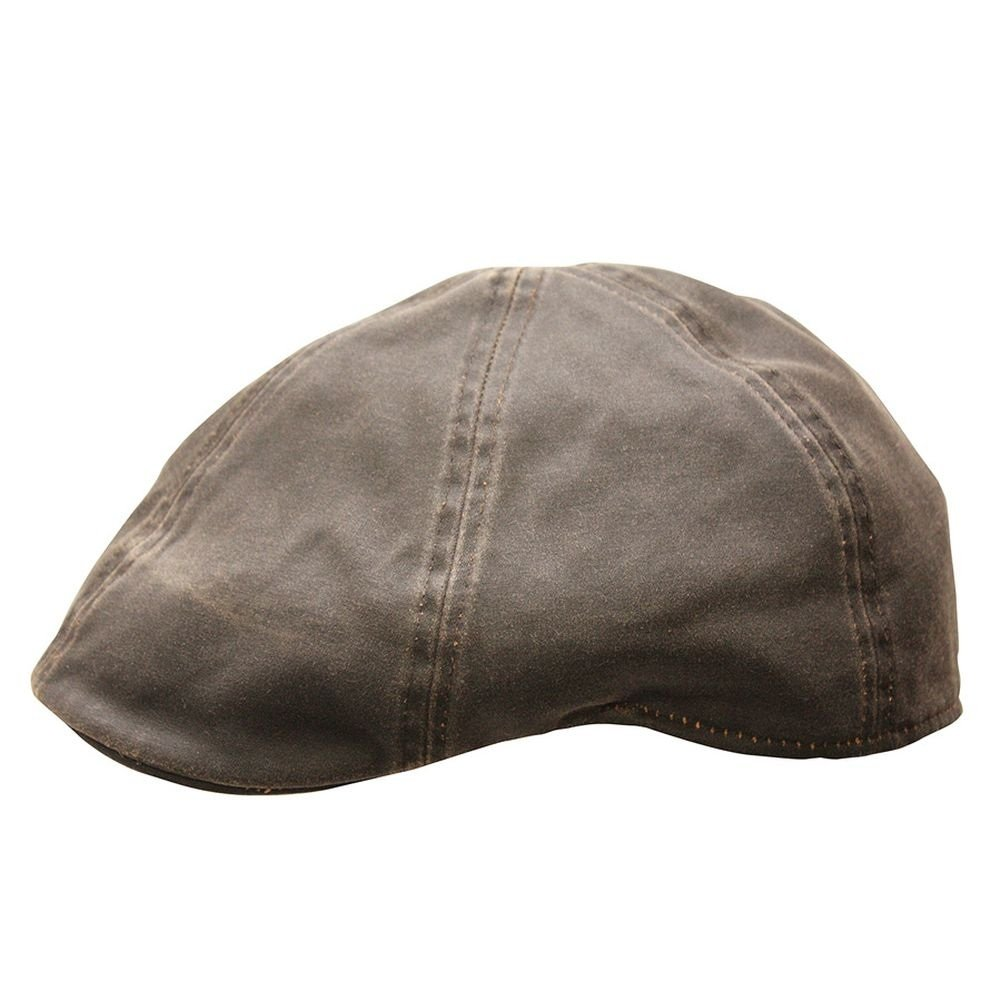 Conner Hats Men's Merrik Newsboy Cap, Brown, M