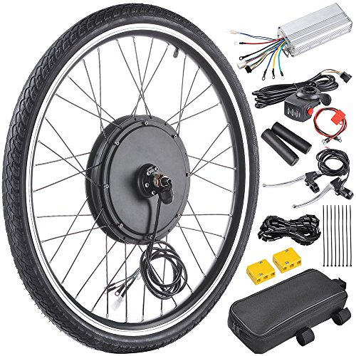 ReaseJoy 48V 1000W 26' Front Wheel Electric Bicycle Motor Conversion Kit...