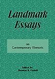 Landmark Essays on Contemporary Rhetoric: Volume 15 (Landmark Essays Series) (Vol 15), , 1880393107