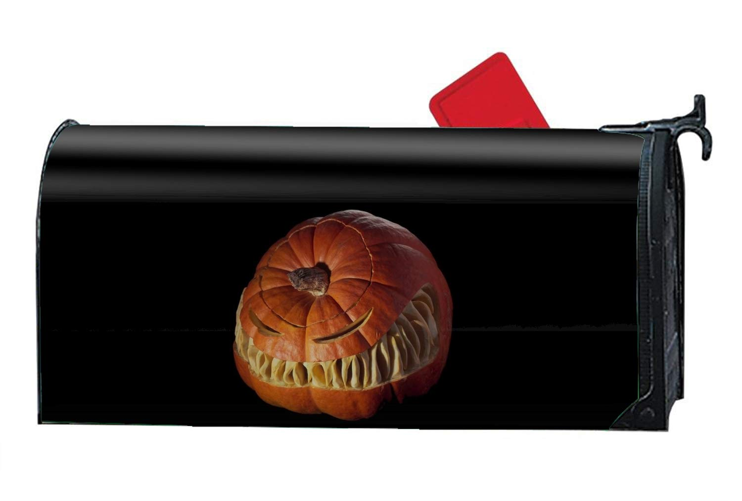 Niaocpwy Holiday Halloween Pumpkin - Mailbox Makeover - Perfect Home Garden Gecor Magnetic Cover