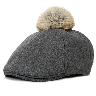 HT761 Nuevo Fancy Wool Felt Kids Beret Gorras Sombreros de ...