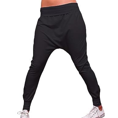 Noir Sport Taille De Mforshop Baggy Femme Unique Pantalon wROXyEqyZ4