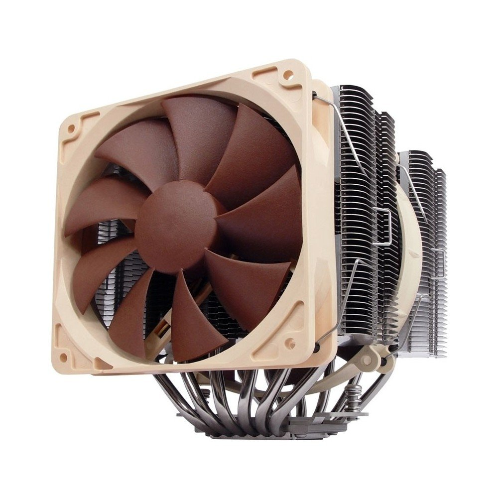 Noctua NH-D14 6 Heatpipe Dual Radiator with 140mm/120mm Dual SSO Bearing Fans CPU Cooler by Axpertec Inc