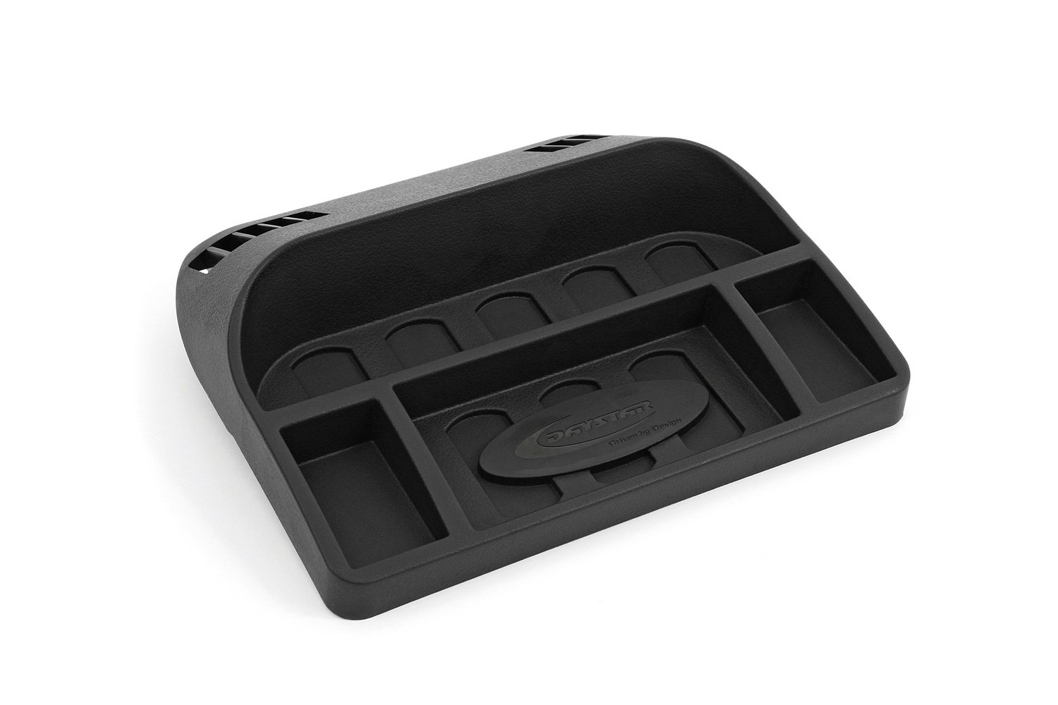 Daystar, Hummer H3 and H3T Upper dash panel, secure your items and create usable space on your dash, fits 2004 to 2010 2/4WD, KG09113 - Black