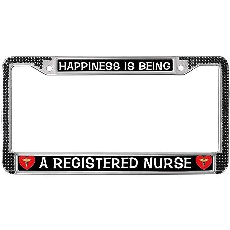 Amazon.com: GND RN Nurse Quotes Diamond Crystal License ...