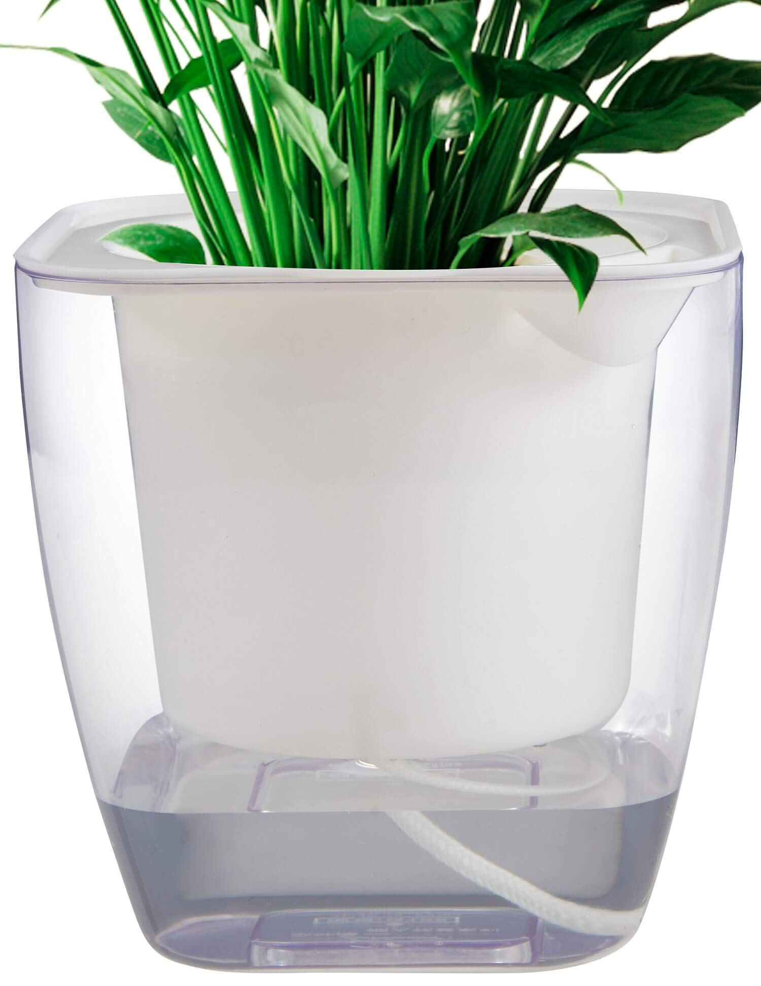 Flower pots indoor or Outdoor, Self Watering Planter 7'', Self Watering Pot (L)