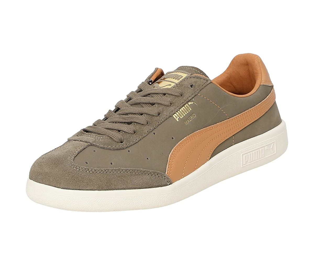 b09270a0329b59 Puma Unisex s Madrid Tanned Green Leather Sneakers-12 UK India (47 EU)  (36380602)  Buy Online at Low Prices in India - Amazon.in