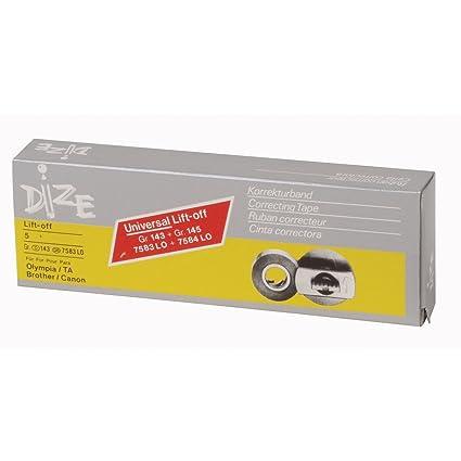 Dize Gr 143 Universal Lift Off 8 mm. X 6 m. Corrección de cinta