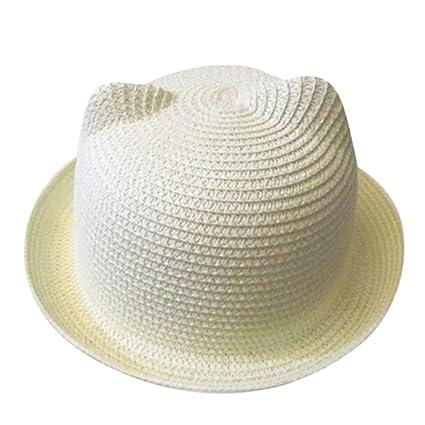 ZARLLE Sombrero Del Bebe Cap Los NiñOs Sombrero De Paja Transpirable Hat  Kids Hat Boy Girls. Pasa el ratón por encima de la imagen para ampliarla 01c78941a58