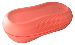 Tupperware Breakfast Maker Microwave Cooker - Light Papaya