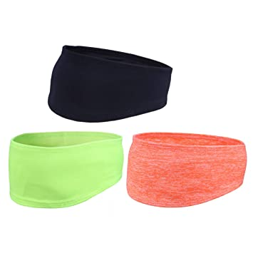 Minkissy Yoga Sport hadband 3pcs Sport Athletic Headband ...