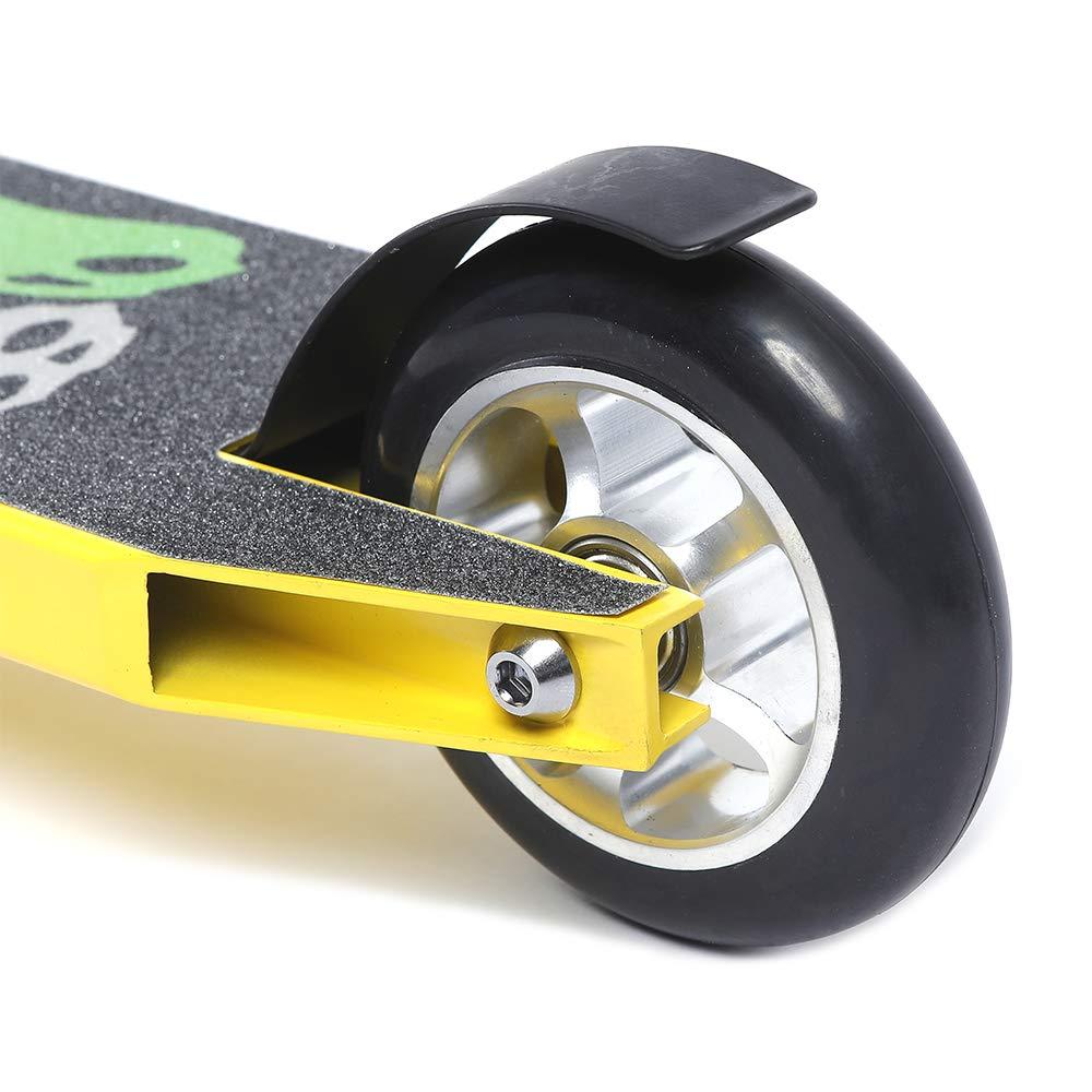 100mm Casted PU Urban Riders Speedy Plus Pro Scooter Chromly Handlebar USA 5 Spoke Aluminium Core Wheels
