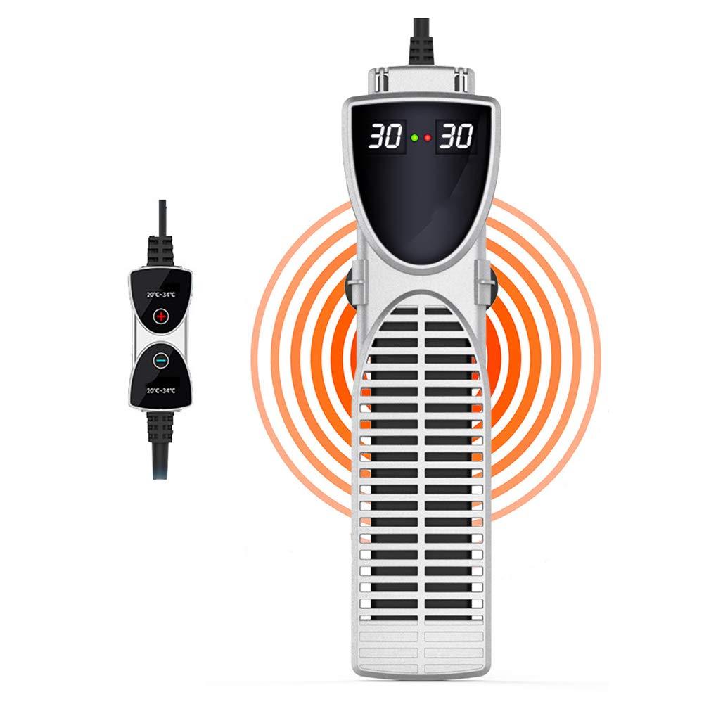DJLOOKK Riscaldatore Acquario per Acquario con Display A LED per Riscaldonnato Rapido, Riscaldatore per Acquario Protetto A Temperatura Elevata per Serbatoi di Pesce di Grandi Dimensioni,1000W