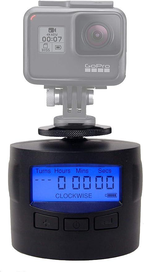 Soporte para cámaras TurnsPro, con Time Lapse, Giratorio, para ...