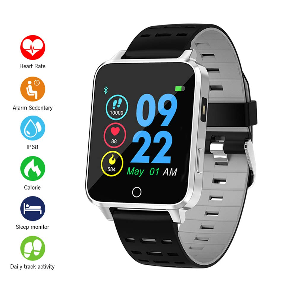 Smartwatch, Kivors Bluetooth SmartWatch IP68 Impermeable ...