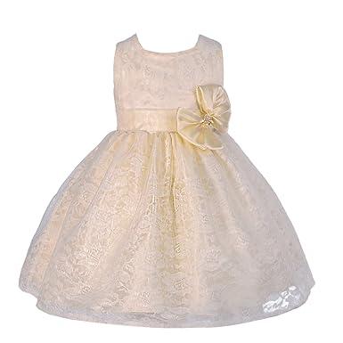 44c11fcd781 Lito Angels - Vestido - para bebé niña: Amazon.es: Ropa y accesorios