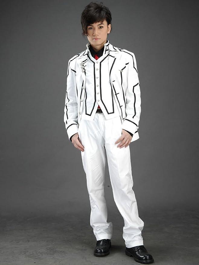 JW Traje de cosplay anime uniformes-blanco Vampire Knight/noche ...