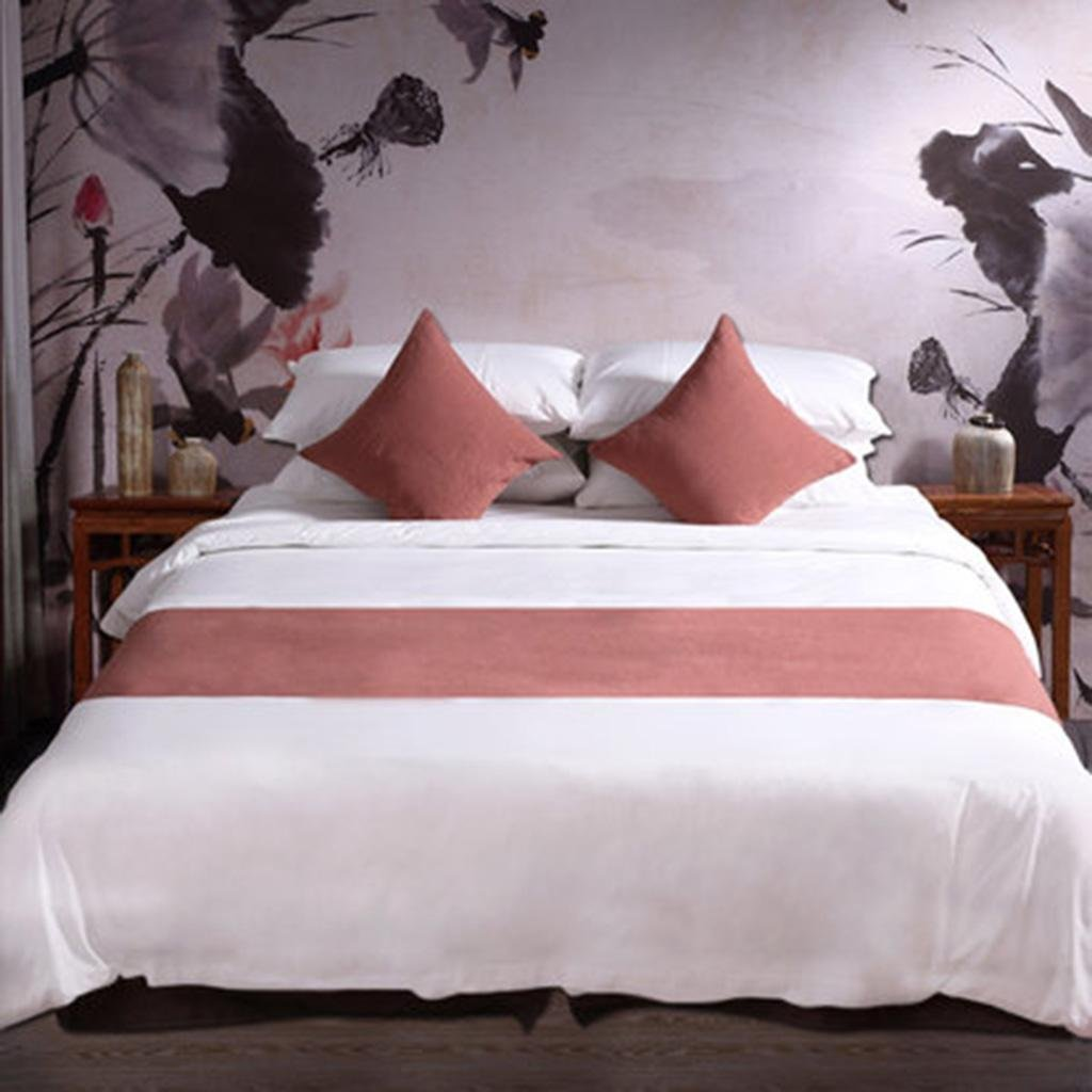 X&Y Hotel Bed Supplies Bed Towel Bed Flag Mat At The End Of The Bed Table Flag Chinese Zen , 1.8m , h