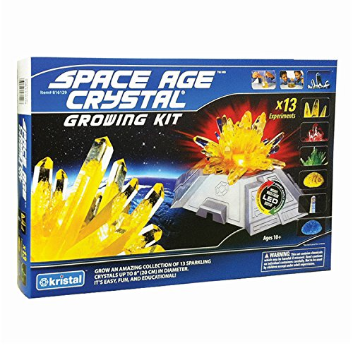 Deluxe Space Age Crystal Growing Kit: 13 Crystals (Space Education Kits)