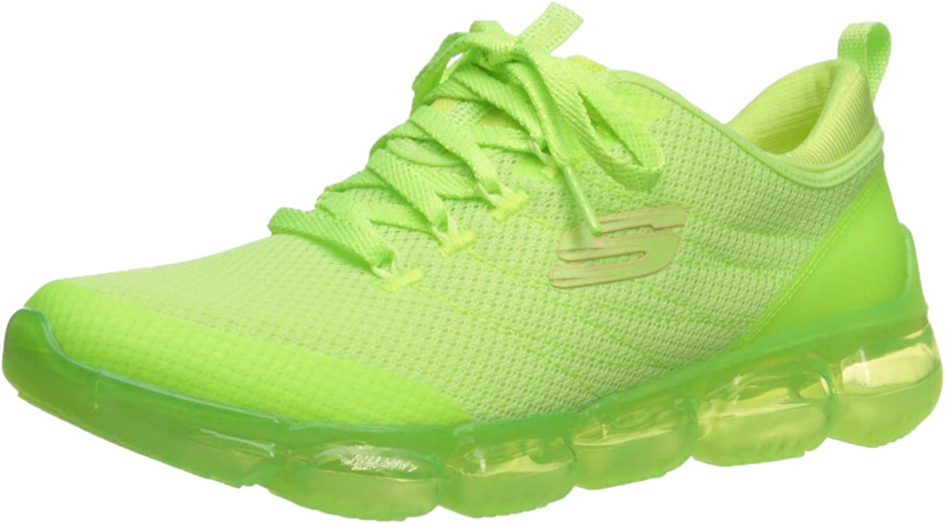Skechers Damen Skech AIR 92 Significance Turnschuh, Lime, 40