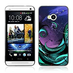 Designer Depo Hard Protection Case for HTC One M7 / Abstract Art Painting