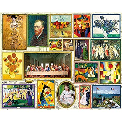 White Mountain Puzzles Great Art - 1000 Piece Jigsaw Puzzle: Toys & Games
