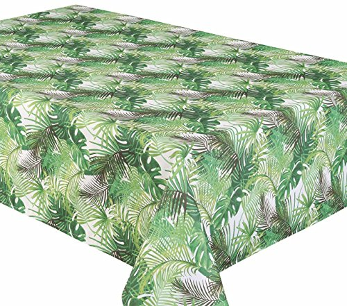 Outdoor Tablecloth Poly Linen Tablecloths that Wipe Clean Like Vinyl Tablecloths 58 X 94