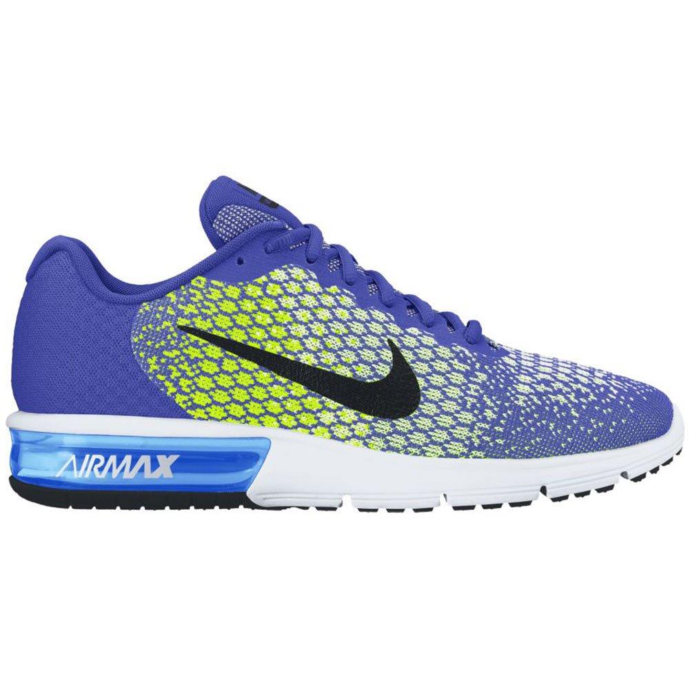 Nike schwarz-Volt-Whit, Air Max Sequent 2 - Paramount Blau schwarz-Volt-Whit, Nike Größe   10 ba1dcc