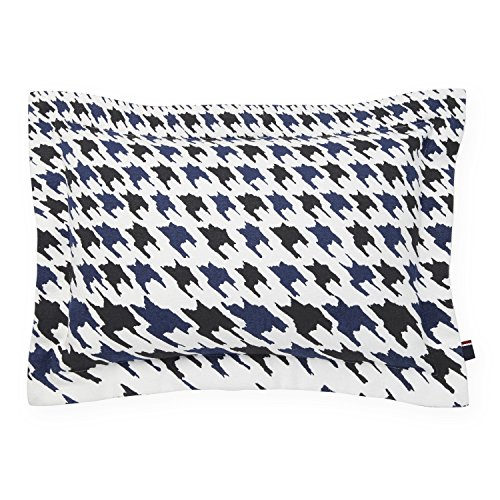 Tommy Hilfiger Hampshire Decorative Pillow, Blue/Black