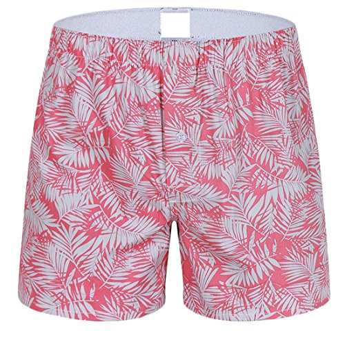 Fulok Mens Stylish Printed Boxer Shorts Casual Lounge Pants for cheap