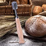 Bonviee Bread Scoring Lame Premium Crafted Dough Scoring Tool | 5 Replaceable Blades | Leather Protective Cover | Bread Scoring Knife Precise Professional & Homemade Bread Bakers Tool 14 BREAD TOOL LAME FOR ANY BREAD BAKERS:Anyone beginner bread baker and professional bread baker makes for beautiful scoring on sour dough breads. PERFECT BREAD LAME DOUGH SCORING TOOL:Effortless scoring on baguettes, batards and boules.Slashing or do deep . RAZOR BLADE STABILITY DOUGH DOES NOT STICK:the blade not slip and wobbles,Cuts were clean and dough does not stick to razor blade.