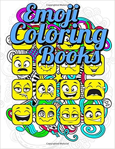 Emoji Coloring Book: Best Coloring Books for Kids 2017: An