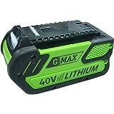 GreenWorks 29472 G-MAX 4 AH Li-Ion, 40V 4amp G-MAX Battery