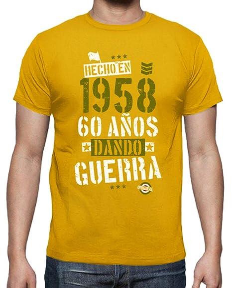latostadora - Camiseta 60 Anos Dando para Hombre: Amazon.es ...