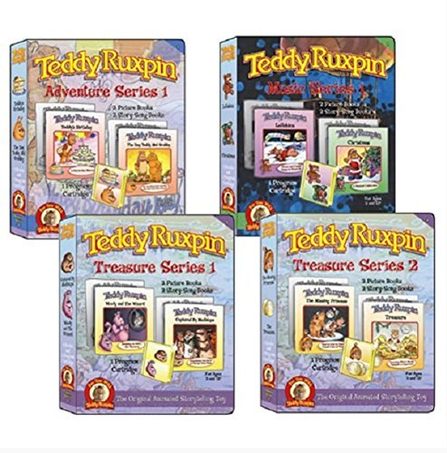 Teddy Ruxpin Favorite Software Series Bundle Program Cartridge (Teddy Ruxpin Grubby)