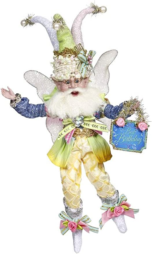 Mark Roberts Fairies Birthday Party Fairy 51-97596 Small 9 Inches 2019 Collecti