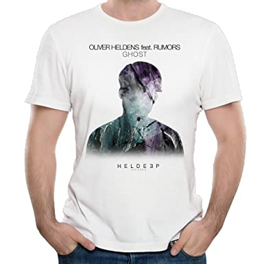 71c963266 T&Tat Men's Oliver Heldens Ghost Short Sleeve T-shirt: Amazon.co.uk ...