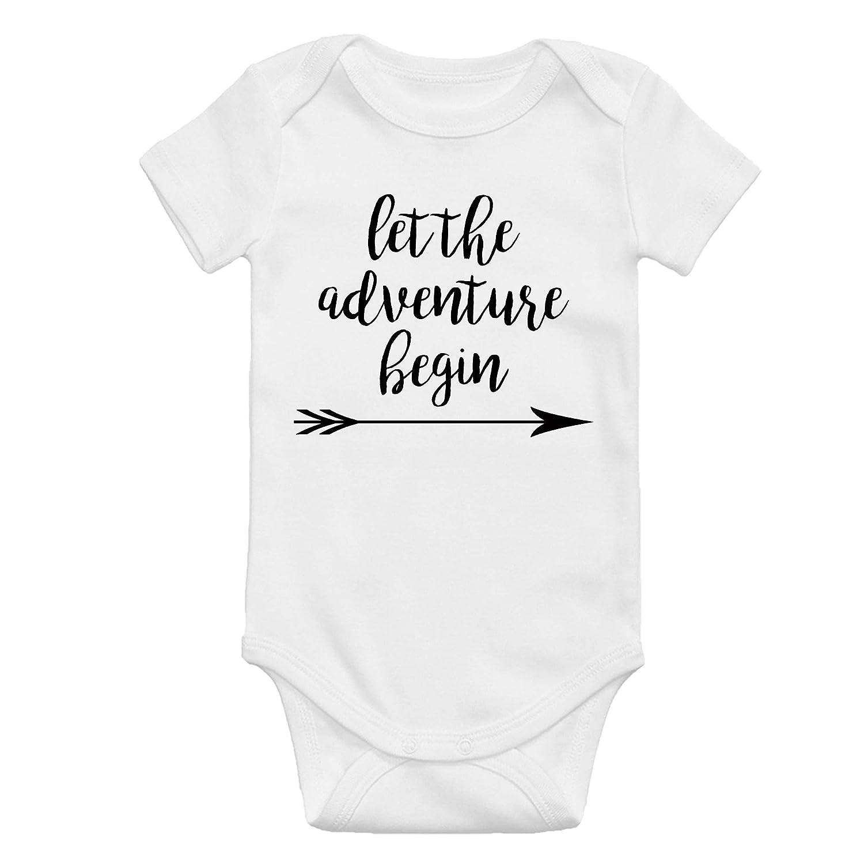 Adventure begins baby announcement bodysuit baby coming soon bodysuit Adventure awaits