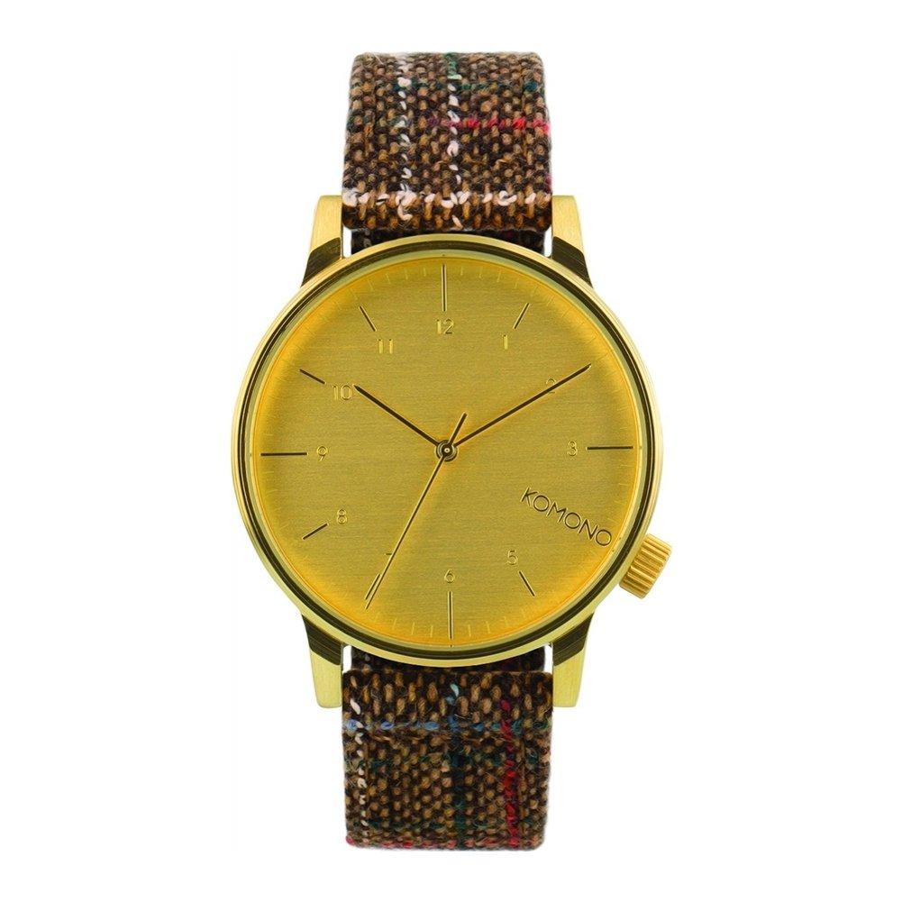 Komono KOM-W2301 - Reloj, Correa de Cuero Color marrón: Amazon.es: Relojes