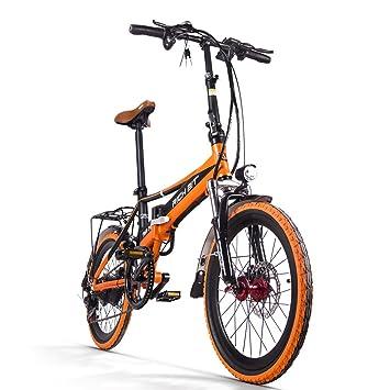 Bicicleta Eléctrica Bicicleta Plegable Rich Bit® RT700 Bici Ciclismo 250 W * 48 V 8Ah