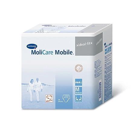 Amazon.com: MoliCare Mobile Underwear, Extra, Large, Case/56 (4/14s): Health & Personal Care