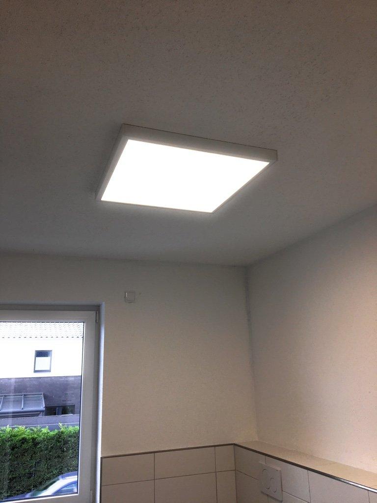 LED Aufbauleuchte Deckenleuchte Aufbaudeckenleuchte Deckenpanel Panel 40W Neutralweiß