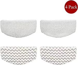 Steam Mop Pad for Bissell Powerfresh 1940 1440 Series Replacement for Bissell 1940 PowerFresh Steam Mop Washable Vacuum Accessories 4pcs