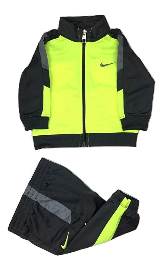 821f7a2fa7 Amazon.com: Nike Infant Full Zip Dri-Fit Sweatshirt & Jogger Pants 2 ...